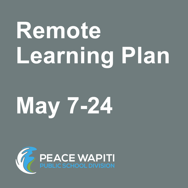 PWPSD announces remote learning plan for May 7-24 Featured Photo