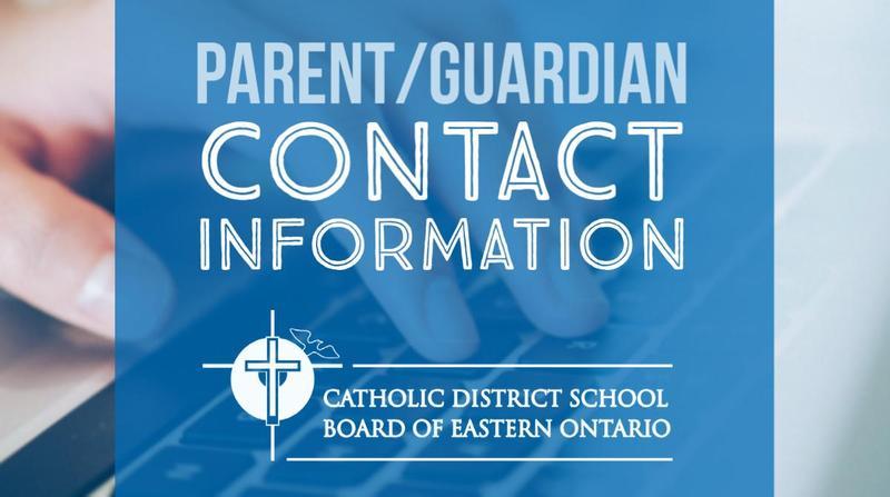Parent/Guardian Contact Information Featured Photo