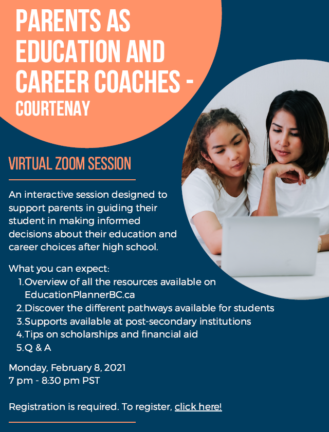 Parents as Education and Career Coaches Image