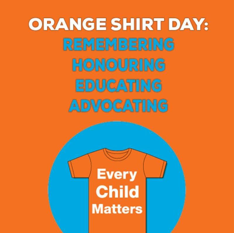 Orange Shirt Day at PWPSD Schools - Every Child Matters Featured Photo