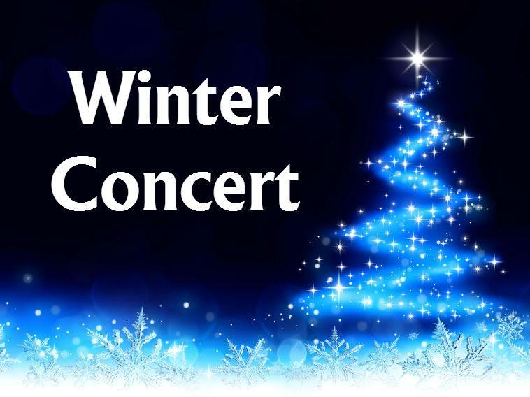 Come join us for our Winter Concert on Monday, December 9th at 7:00pm Featured Photo