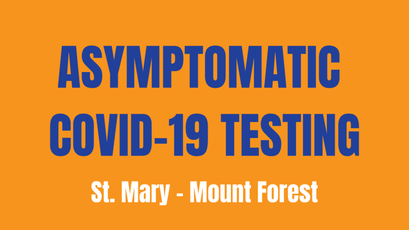 Asymptomatic Testing