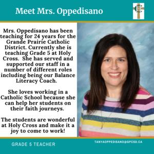 Holy Cross: Tanya Oppedisano Featured Photo