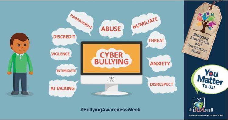 social media image for bullying awareness and prevention
