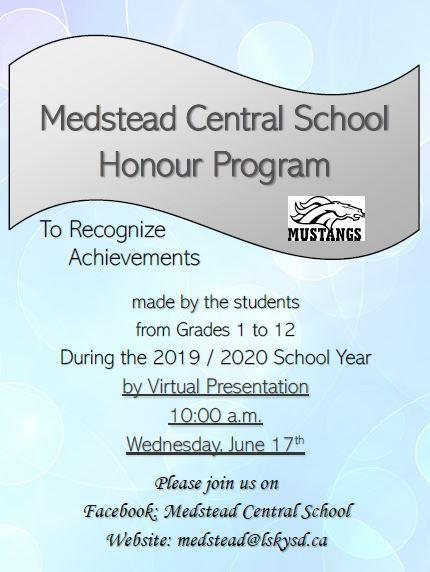 Medstead Central School Honour Program Featured Photo