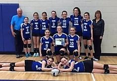 Gr 7 Girls 1st Place
