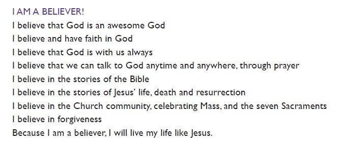 I am a Believer!