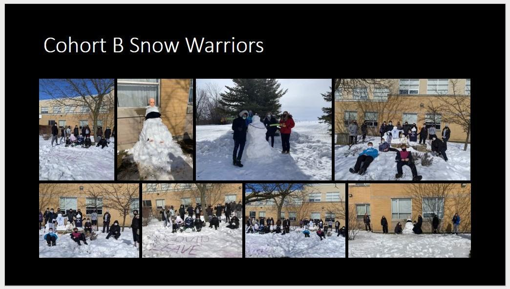 Cohort B Snow Warriors