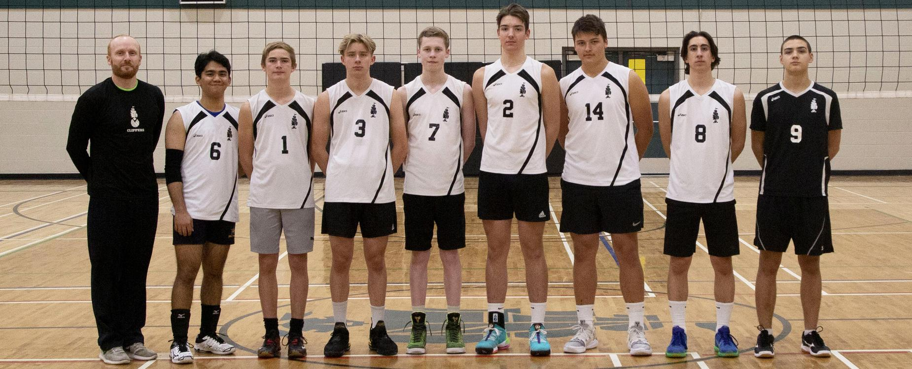 varsity boys volleyball team picture