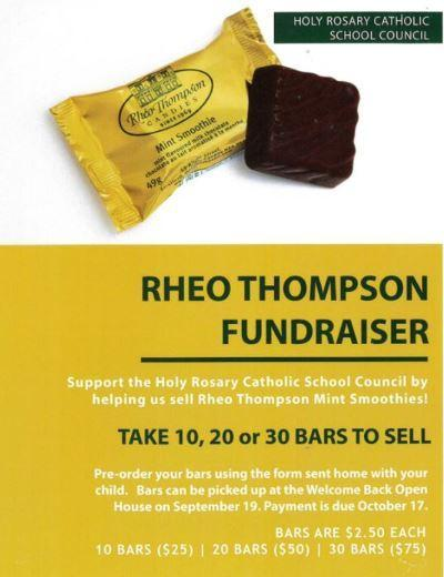 Rheo Thompson Fundraiser