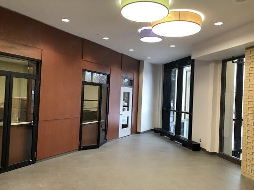 Photo of front office lobby at Stratford Intermediate School