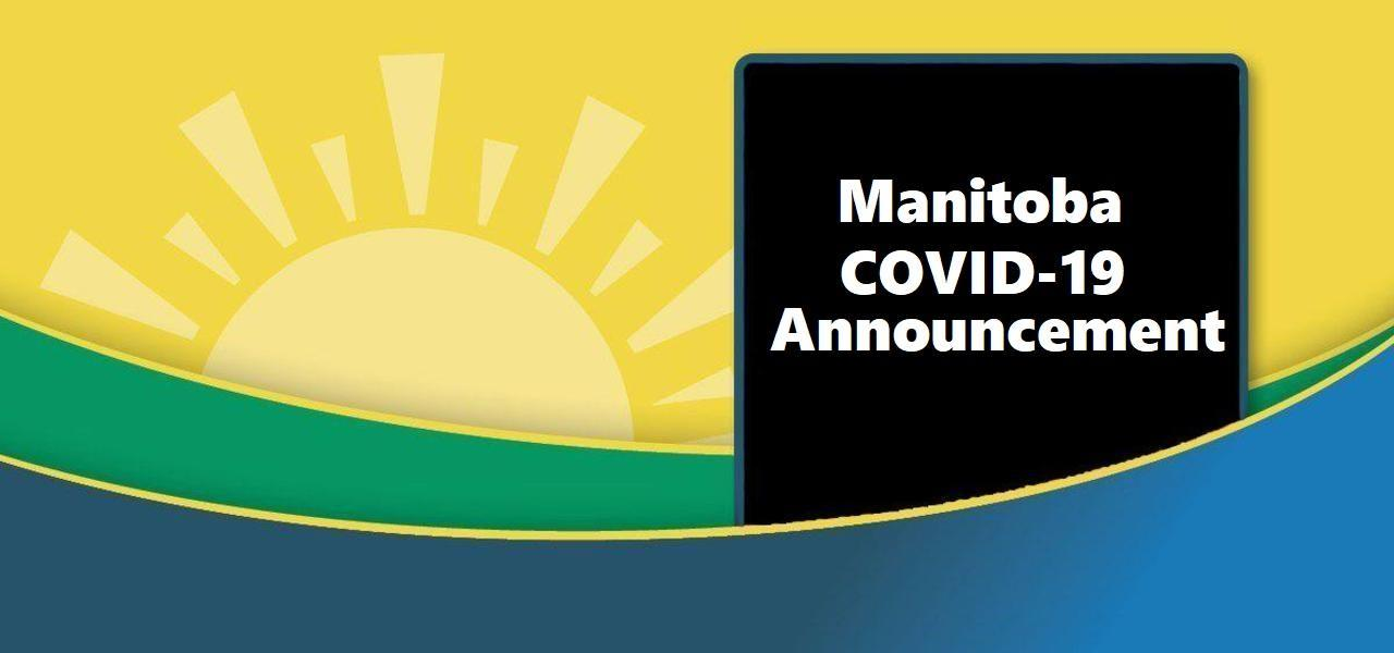 March 31 2020 Manitoba COVID-19 Announcement