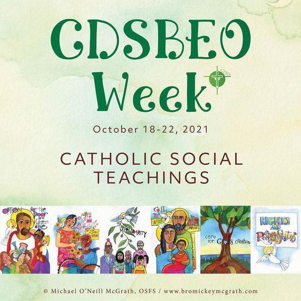 CDSBEO Week Oct 18 - 22, 2021 Featured Photo