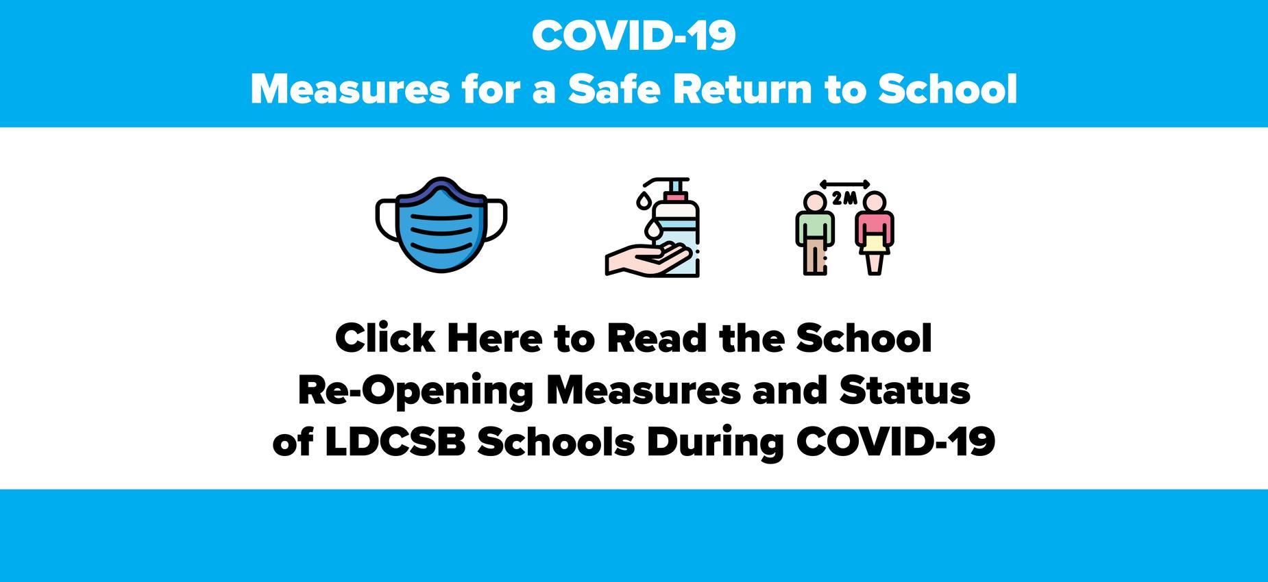 Status of LDCSB Schools During COVID-19