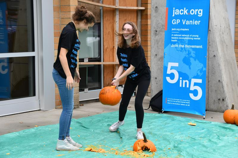 Valley students smash pumpkins for a strong cause Featured Photo