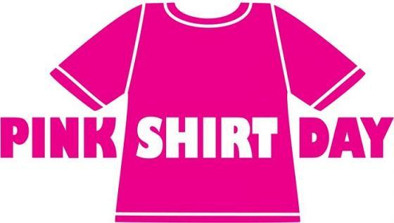 Pink shirt day is Feb. 24th. Featured Photo