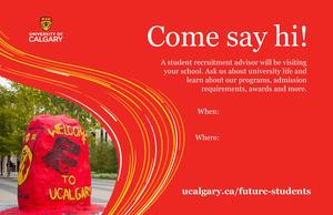 University of Calgary Visit Featured Photo