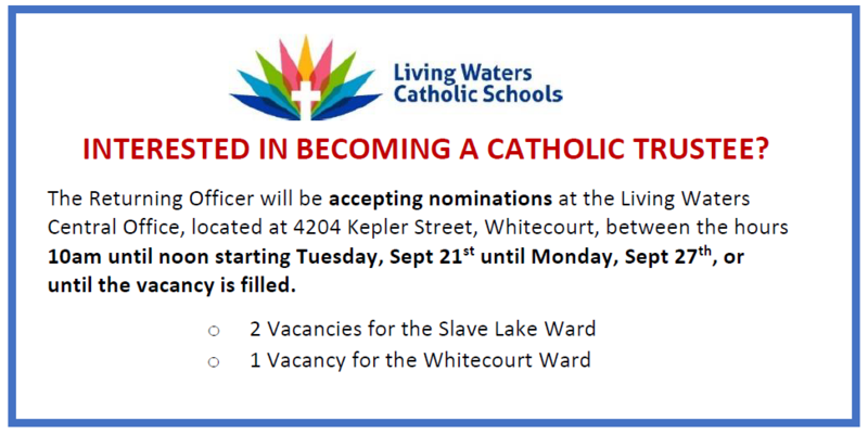 Catholic Trustee Nominations Extended Featured Photo