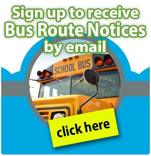 Sign up to receive bus notifications